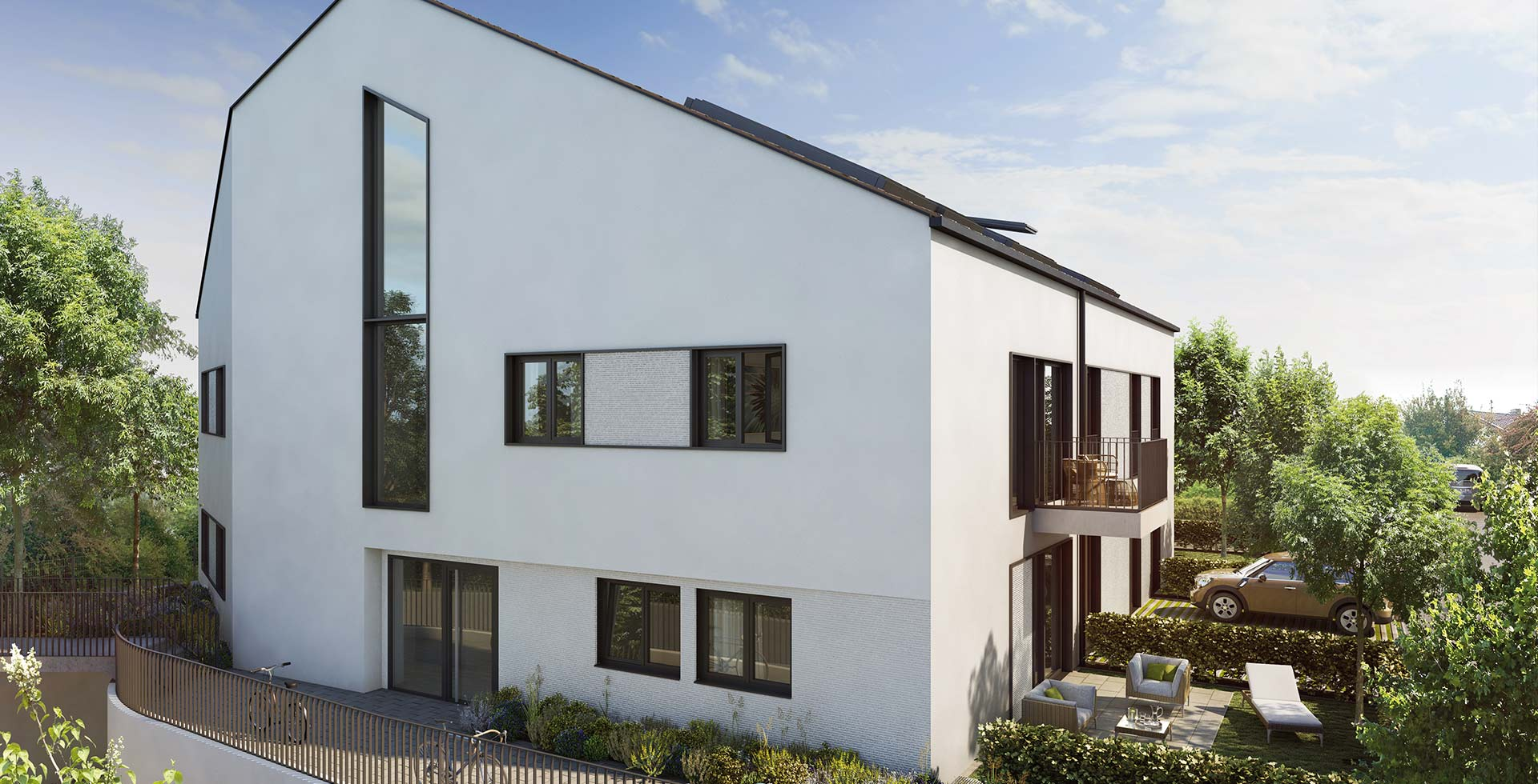 LHOMES_Neubauimmobilie_Tulpenweg-Wolfratshausen-Aussenansicht