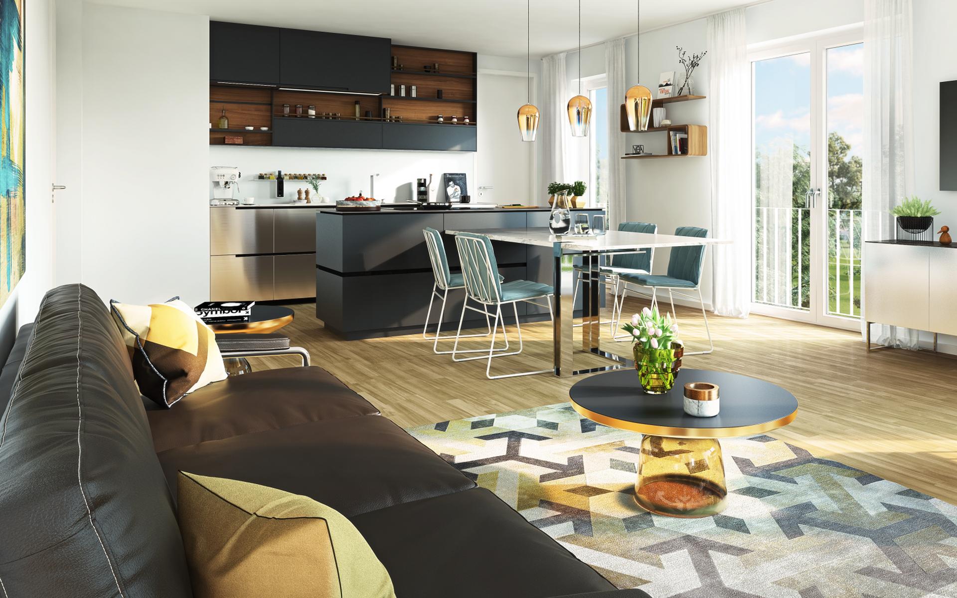 L HOMES Neubau-Wohnungen Sauerlacher Str. News Ausstattung