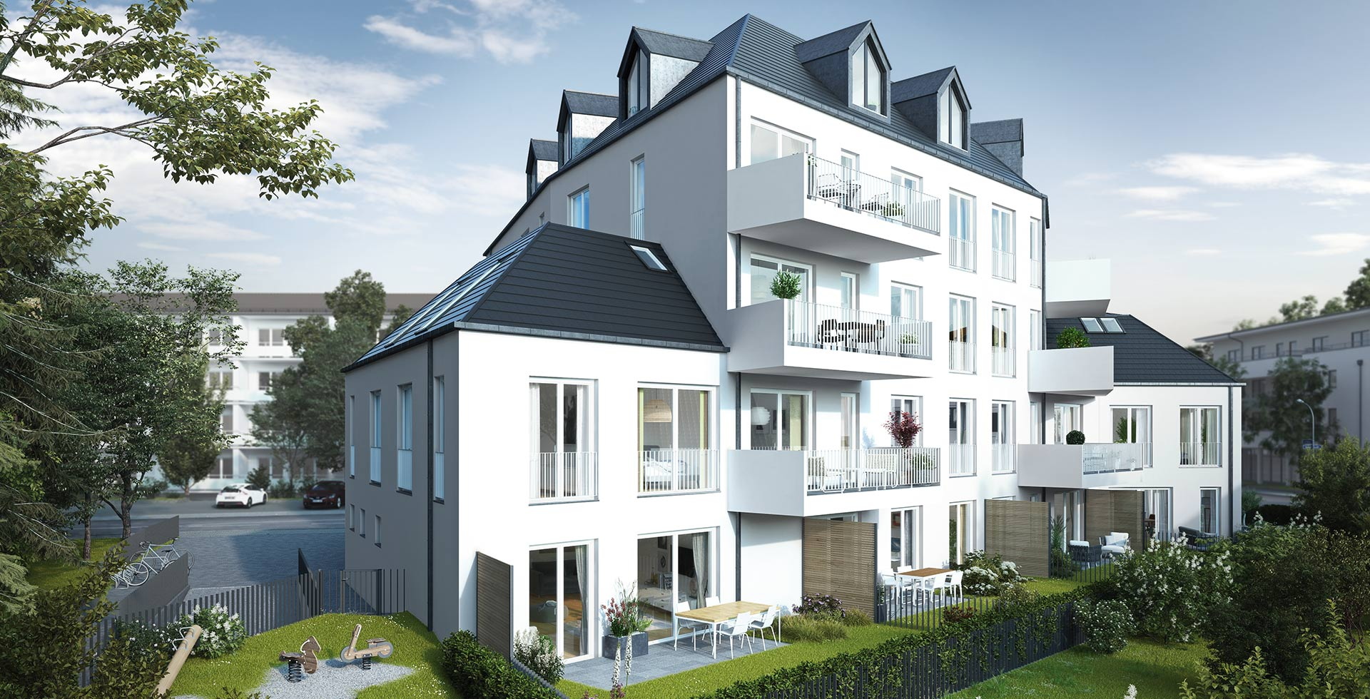LHOMES_Neubauimmobilie_Sauerlacherstrasse-Wolfratshausen-Aussenansicht