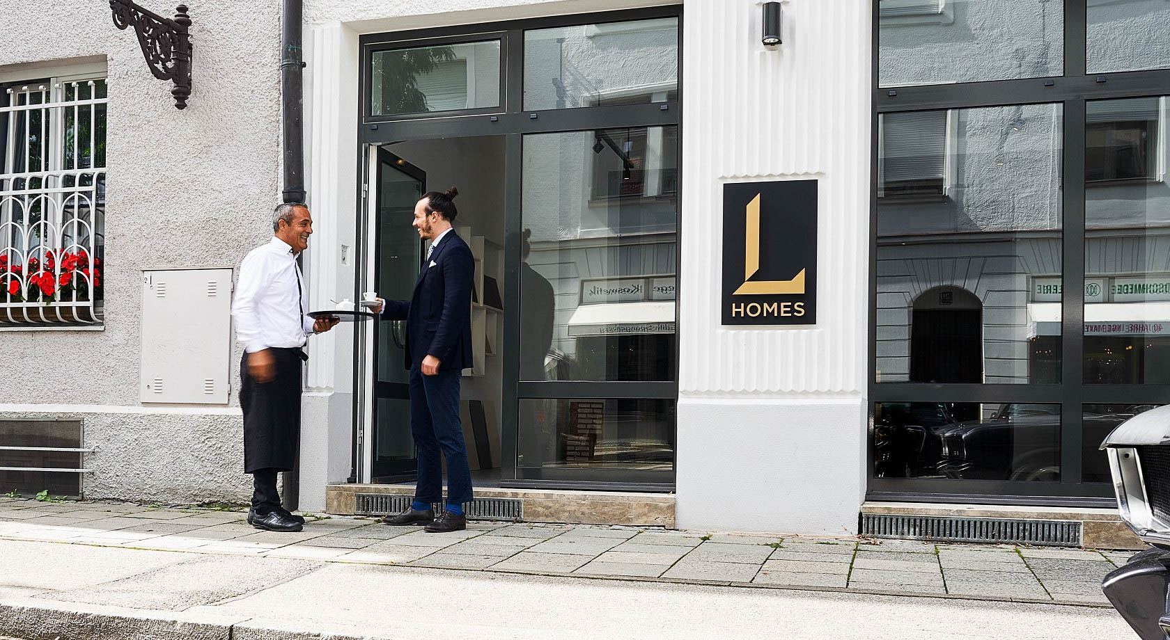 L HOMES Showroom München