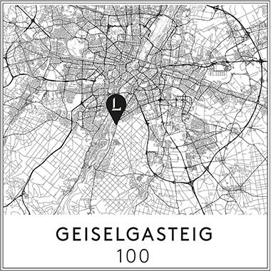 Lage Karte Geiselgasteig 100