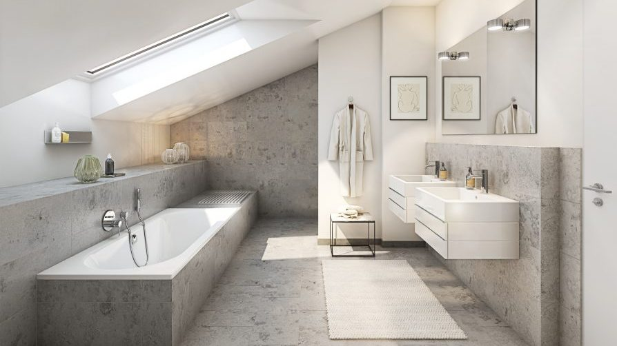 L HOMES Reiffenstuelweg Architektur Badezimmer