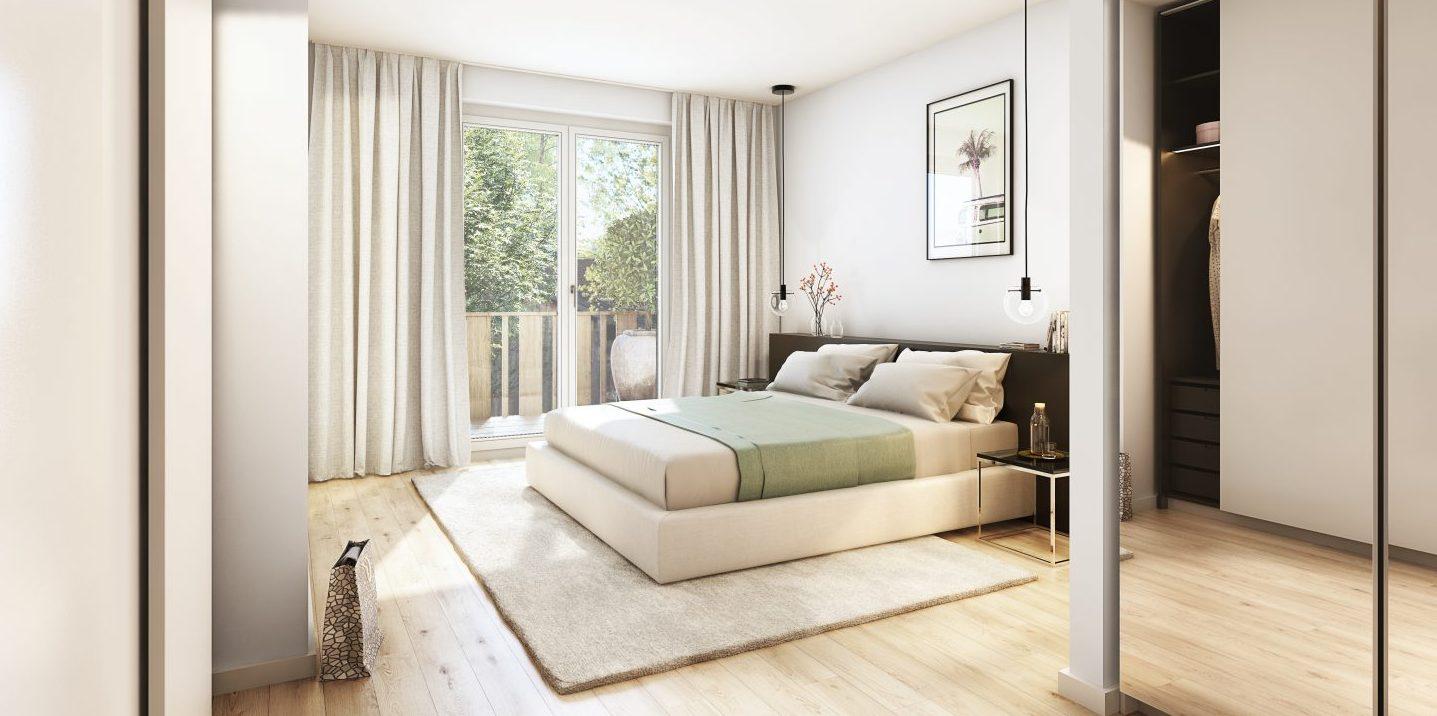 L HOMES Rottach Egern Reiffenstuelweg Schlafzimmer