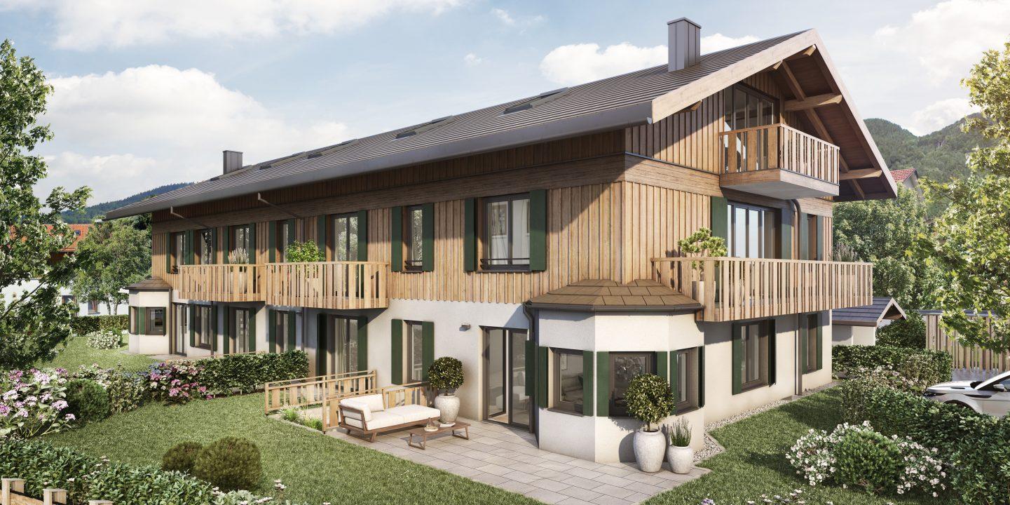 L HOMES Reiffenstuelweg Architektur Fassade