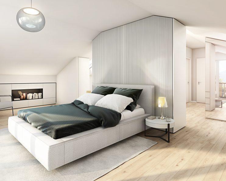 L HOMES Reiffenstuelweg Rottach Schlafzimmer