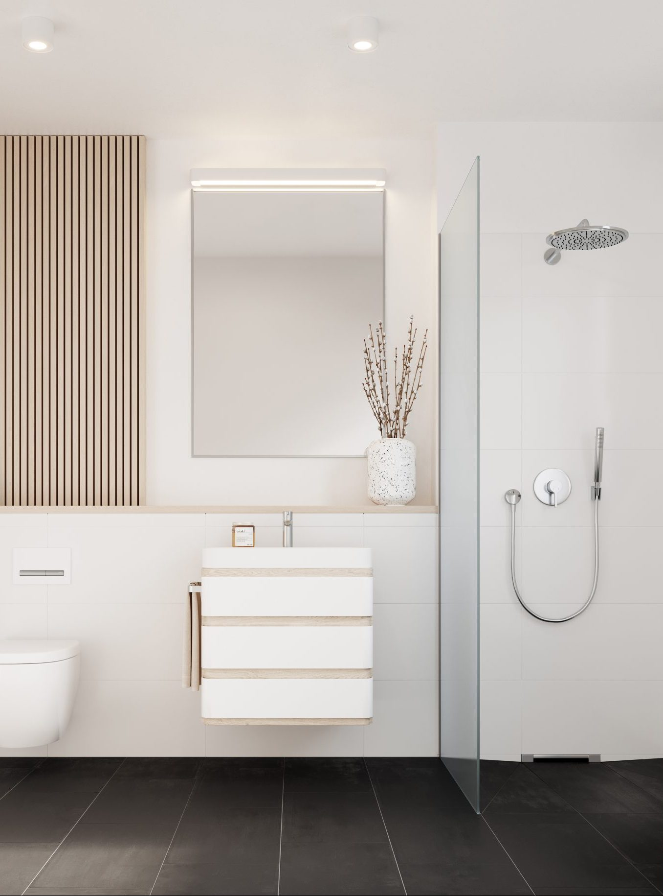 L HOMES Geiselgasteig Badezimmer