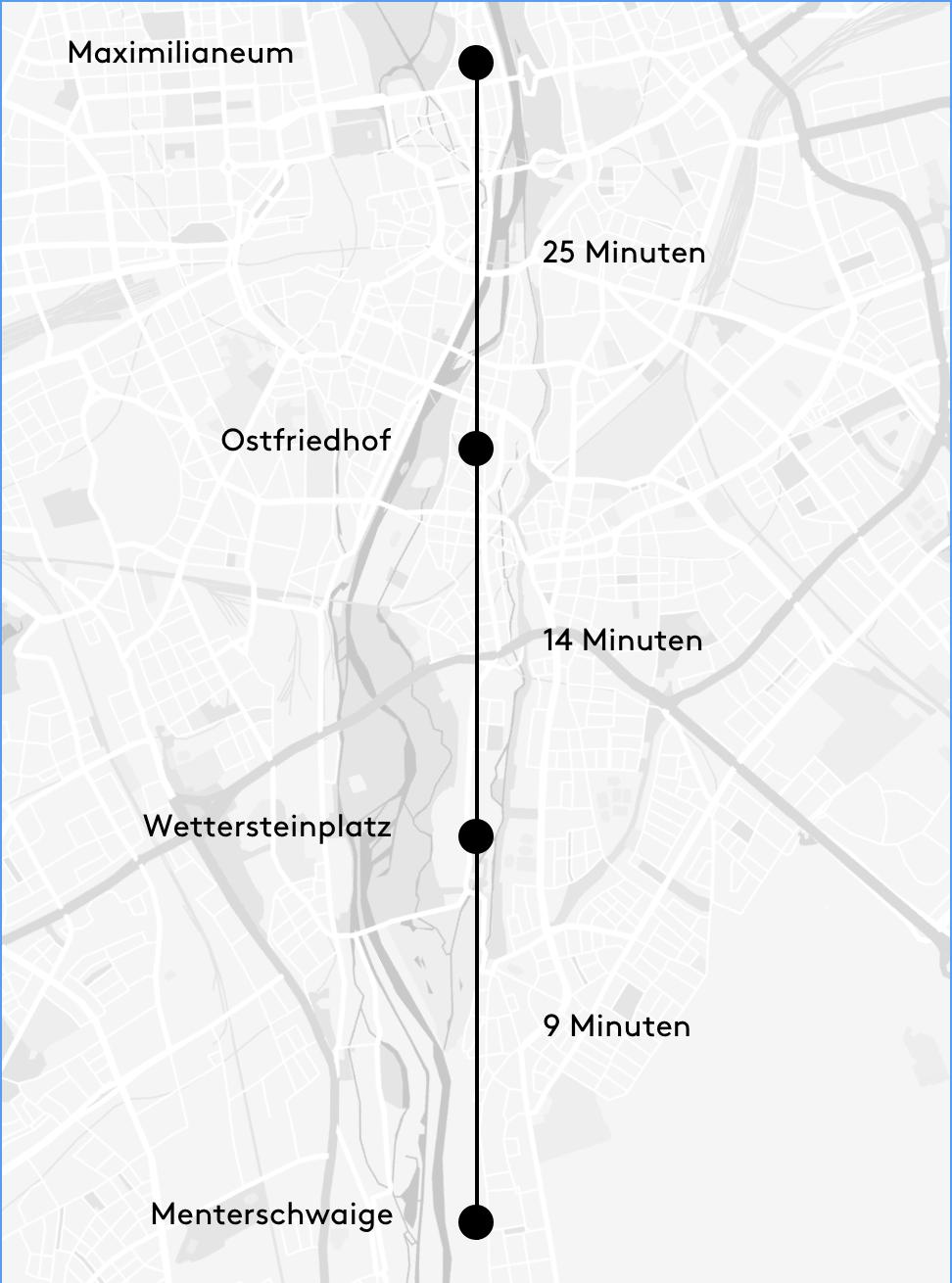 LHOMES Geiselgasteig Karte