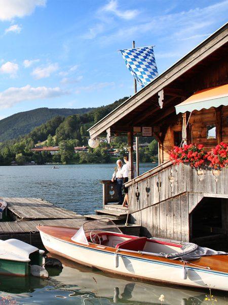 L HOMES Rottach-Egern Reiffenstuelweg 17 Tegernsee Bootsverleih