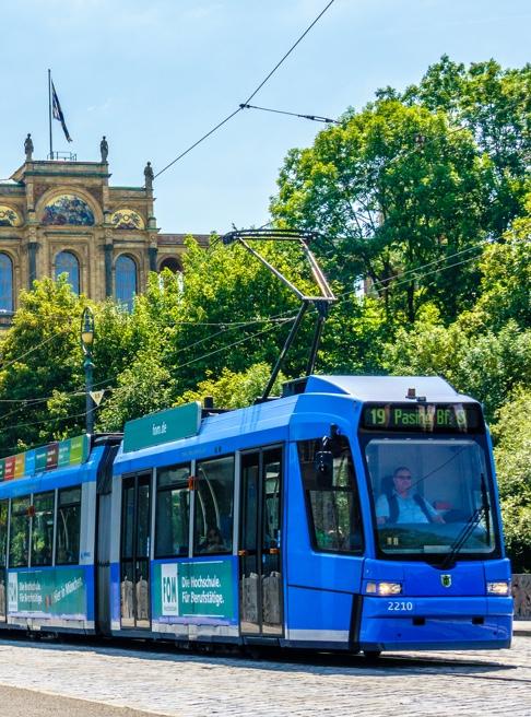 LHOMES Geiselgasteig Tram