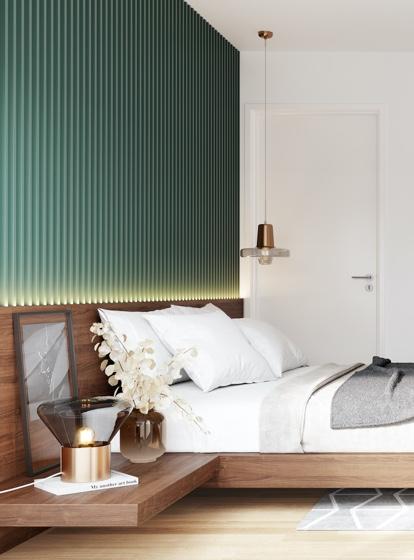 L HOMES Geiselgasteig Schlafzimmer