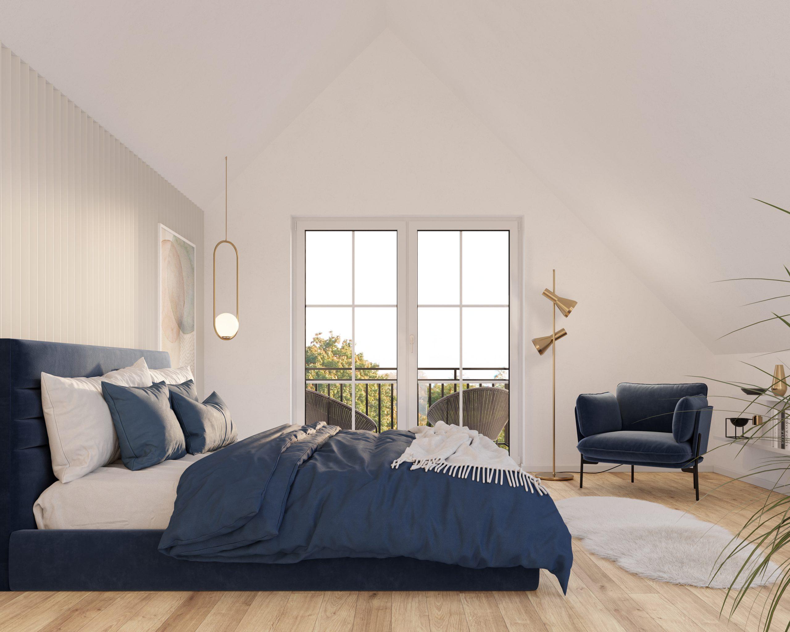 L HOMES Starnberger See Berg Doppelhaushälfte Neubau Sonnenweg 11 Schlafzimmer
